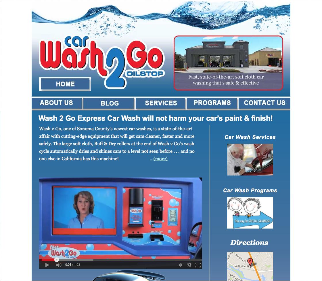 Website Design – Wash2Go