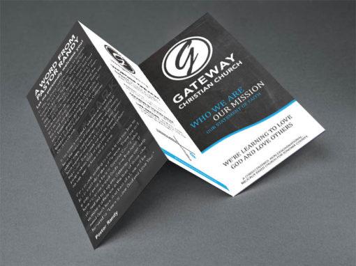 Brochure Design – Church