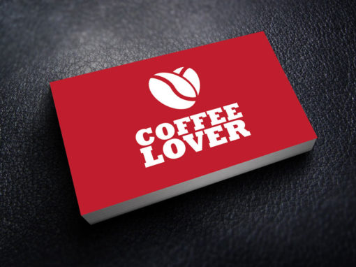 Business Card Design for Coffee Company