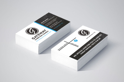 Graphic Design – Business Card for Church