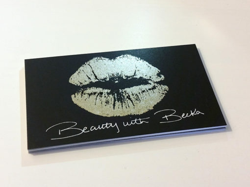 Graphic Design – Beauty and Cosmetic Logo and Business Card